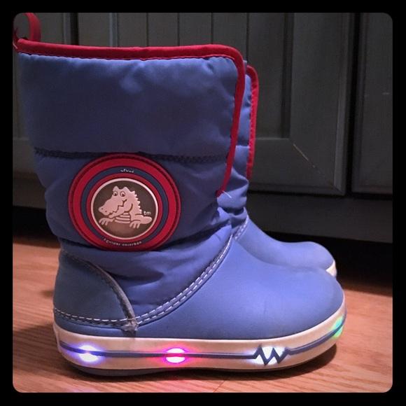 CROCS Shoes   Boys Light Up Croc Snow