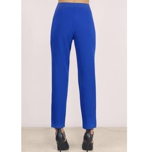 Tobi Pants - Cobalt Blue Stylish Dress Pants