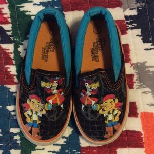 Disney Other - JAKE AND THE NEVERLAND PIRATES SHOES