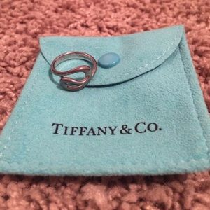 Tiffany & Co. Sterling Silver Ring, size 4.5