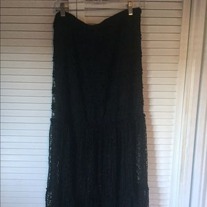 Exhilaration Dresses & Skirts - NWOT Exhilaration Black Lace Skirt Size XL