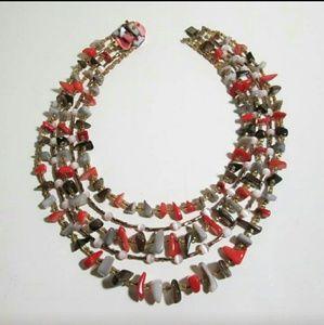Vintage  Jewelry - Vintage ✴Boho Statement Necklace