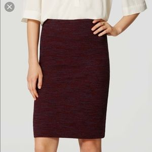 LOFT Dresses & Skirts - Loft knit pencil skirt XL NWT