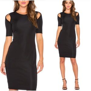 Bailey 44 Dresses & Skirts - Bailey 44 Black Cold Shoulder $152* Sheath Dress