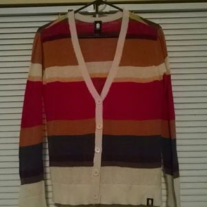 NWOT Doctor Who Fourth Doctor Button Up Cardigan