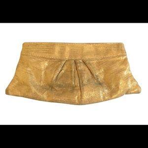 Lauren Merkin Handbags - Lauren Merkin Gold Clutch