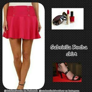 Gabriella Rocha  Dresses & Skirts - 💜2/$25 Gabriella Rocha pink fuchsia HALTER SKIRT