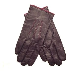 Banana republic - leather gloves