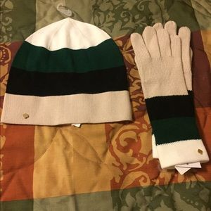 BNWT Kate Spade ♠️ Hat & Glove Set