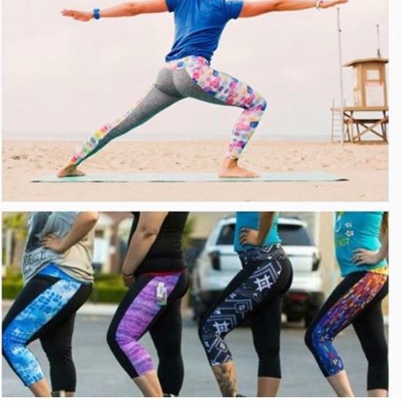 29db85d489d588 LuLaRoe Pants | Workout Capri Jade | Poshmark