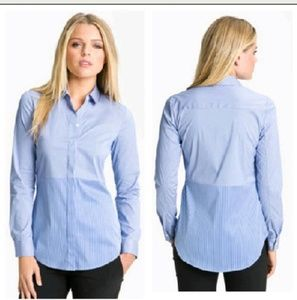 """THEORY """"Tablita S."""" Button Front Top"""