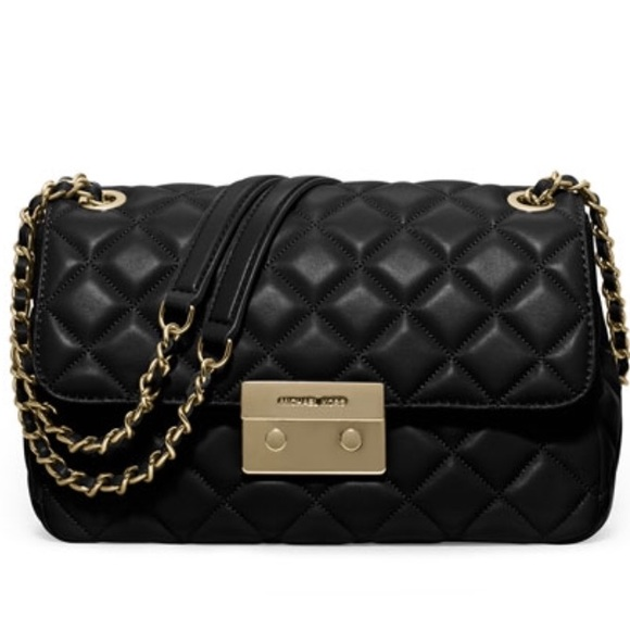 30% off Michael Kors Handbags - SLOAN LARGE QUILTED-LEATHER ...