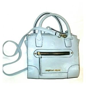 Christian Siriano Handbags - Super chic little light blue purse handbag