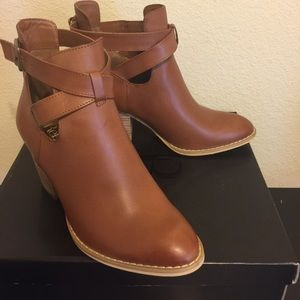 Reba Shoes - New in box Reba brown booties! Lowest price