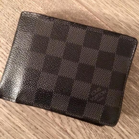 be1358c86630 Louis Vuitton Other - Men s Louis Vuitton Damier Graphite Canvas Wallet
