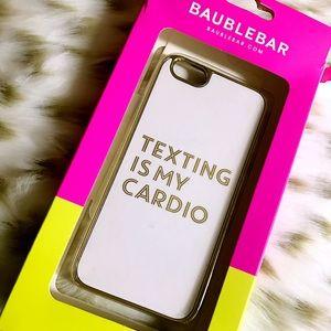 Baublebar IPhone 6/6s fashion phone case white