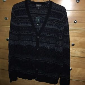 Express Other - ⭐️ SALE ⭐️ Express men's cardigan size medium NWT