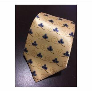 Valentino Other - •Valentino Cravatte yellow/blue tie •