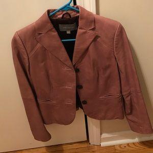 Ann Taylor Jackets & Coats - Leather jacket