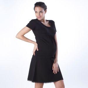 Seraphine Dresses & Skirts - NWT Seraphine Black Maternity Dress sz 8