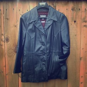 Wilsons Leather Jackets & Blazers - ⬇️ Wilsons Leather Black Leather Jacket