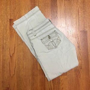 Hydraulic jeans- beige- 9/10
