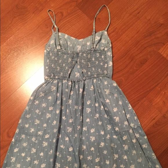f39c754a8f0 Juniors  SO Kohl s Smocked Summer Dress Size XS