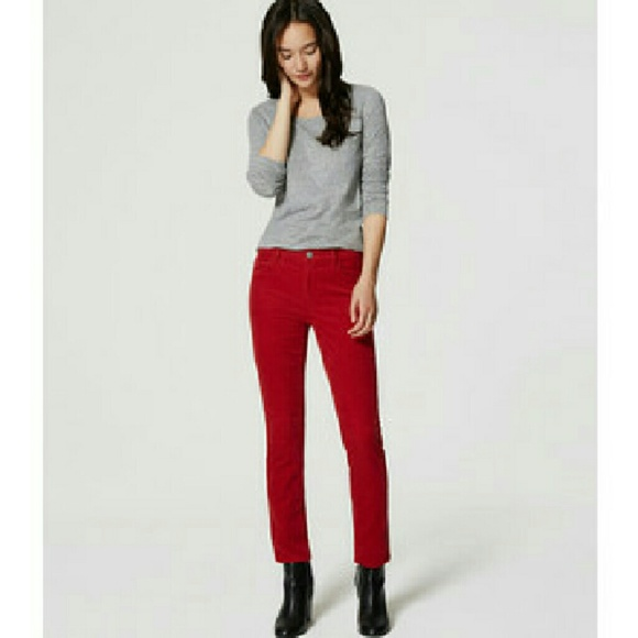 66% off SO Pants - Red juniors corduroy pants from Joann's closet ...