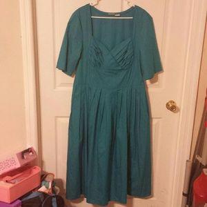 BrightWeekend Sale!  Blue Eshakti Dress 14/16