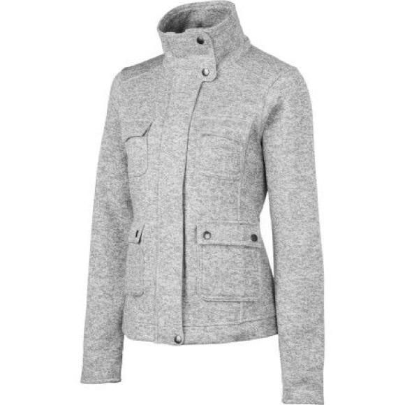Sale Patagonia Womens M Grey Fleece Jacket