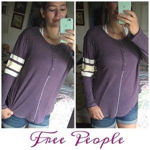 Free People Tops - Free People Long Sleeve Tee