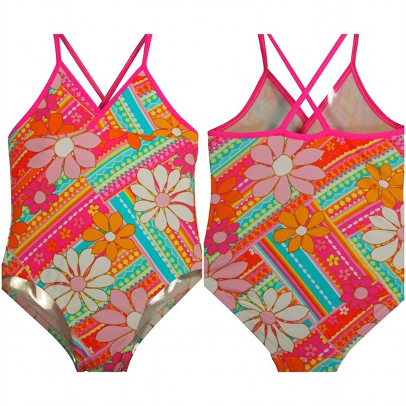 🍄LOWEST🍄 Anita G Boutique Floral Swimsuit