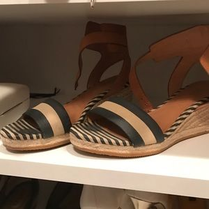 Shoes - Coach wedge sandal