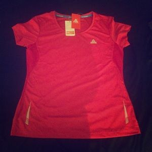 Peak Performance Tops - NWT PEAK Running Shirt w/ Reflectors