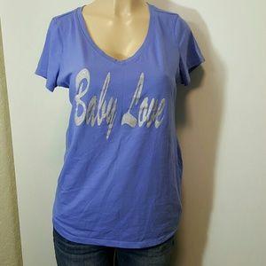 Large maternity shirt