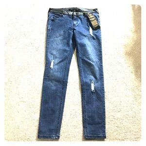 Highway Jeans Denim - Highway jeans sz 9 w leather nwt skinny awesome