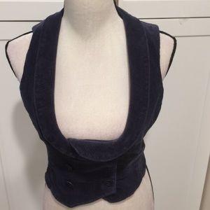 Cute corduroy vest