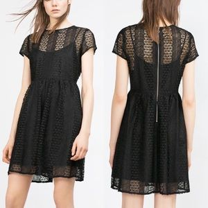 Zara Dresses & Skirts - Zara Lace Dress