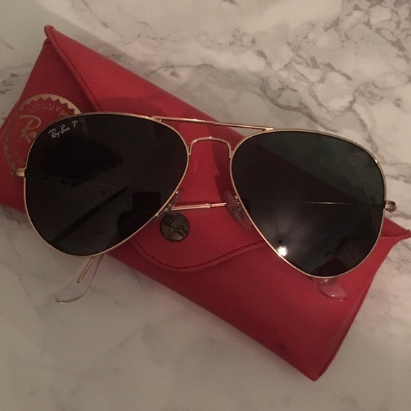 53fdc08a8a germany ray ban rb3025 aviator gold frame crystal rose polarity ...