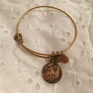 Alex and Ani Gold Sagittarius Bracelet