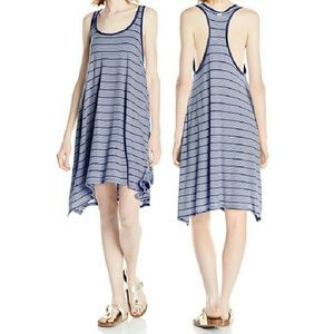 Volcom Dresses & Skirts - Volcom Stripe Racerback Tank Dress NWT