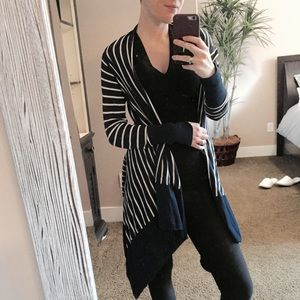 Caslon Sweaters - ☄Caslon Striped Cardigan Shawl