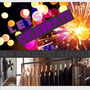 ✨Happy New Year! Closet Cleaning! ✨