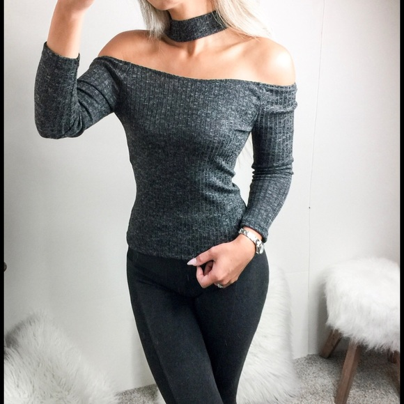 5969714d2fa211 Clearance 🌺 Simone Off Shoulder Ribbed Top. Boutique. Hapa Clothing  Boutique