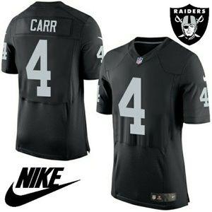 official photos 8541e 31c5f 🏈 Men's Raiders #4 Derek Carr Elite Jersey Boutique