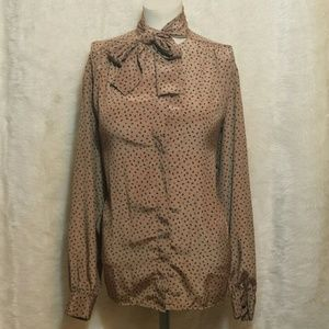 Evan Picone Tops - Evan Picone Size 14 Button Down Blouse with Scarf