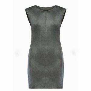 SUPER SALE NWT BCBGMAXAZRIA Elm Suede Dress