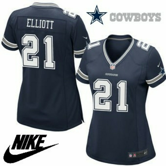 pretty nice 87581 f99fe 🏈 Women's Cowboys Ezekiel Elliott Limited Jersey Boutique