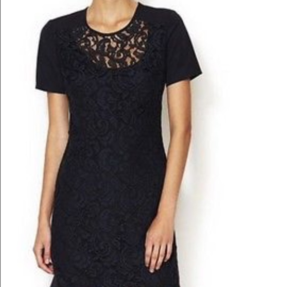 French connection lace mini dress