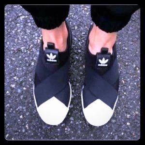 Adidas Shoes - BRAND NEW Adidas Superstars Size 7.5